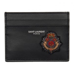Saint Laurent Black Badge Card Holder