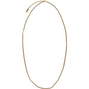 Saint Laurent Gold Fine1 Necklace