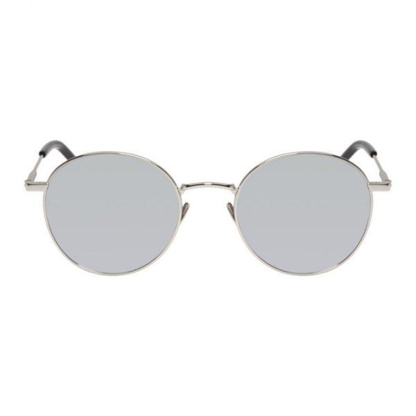 374341f586f Saint Laurent Silver SL 250 Sunglasses