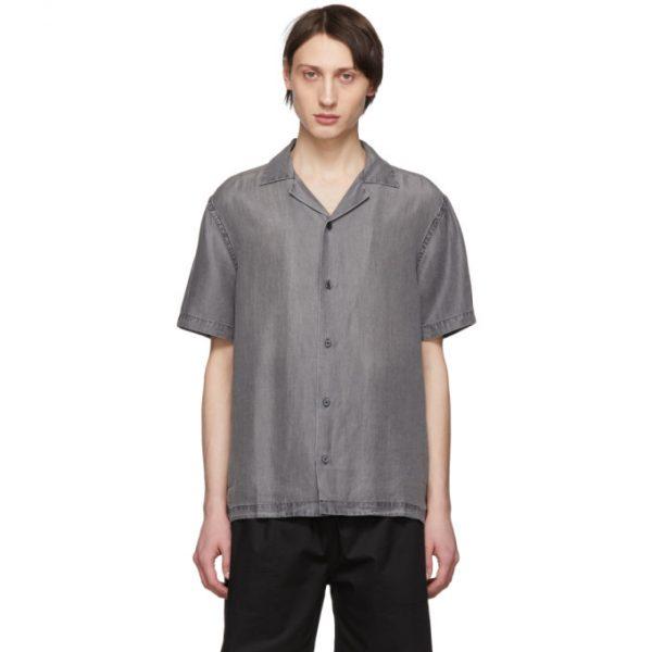 Saturdays NYC Black Canty Short Sleeve Shirt
