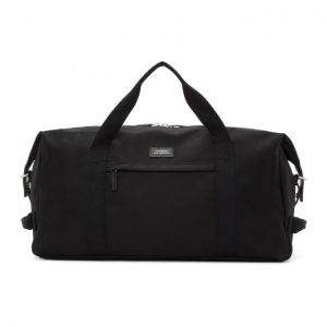 Saturdays NYC Black Norfolk Hold All Duffle Bag