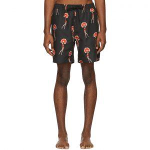 Saturdays NYC Black Timothy Flapper Swim Shorts