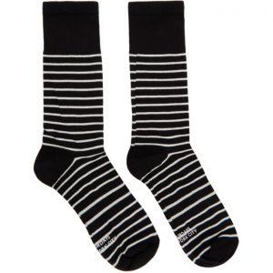 Saturdays NYC Black and White Lightweight Socks