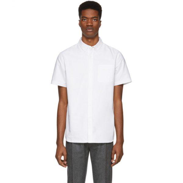 Saturdays NYC White Oxford Esquina Shirt