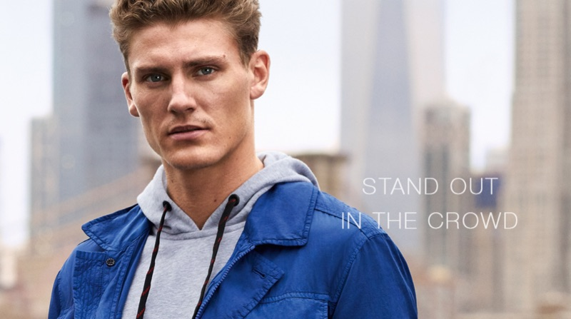 Strellson taps Mikkel Jensen to front its spring-summer 2019 campaign.