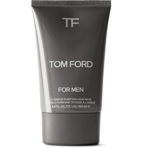 TOM FORD BEAUTY - Intensive Purifying Mud Mask, 100ml - Men - Black