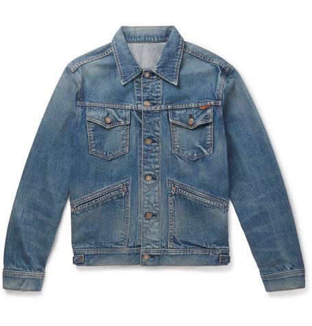 TOM FORD - Denim Trucker Jacket - Men - Blue