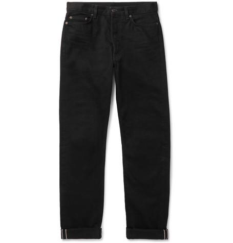 The Row - Bryan Selvedge Denim Jeans - Men - Black