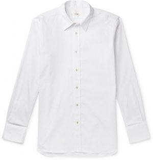 The Row - Keith Sea Island Cotton Shirt - Men - White