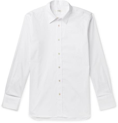 The Row - Keith Sea Island Cotton Shirt - Men - White