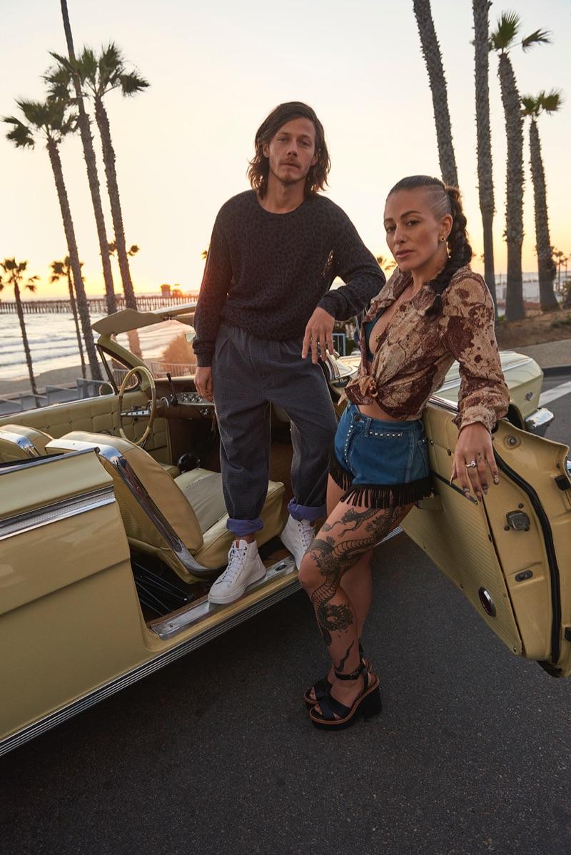 Jozie Furchgott Sourdiffe and McCaul Lombardi star in UGG's spring-summer 2019 campaign.