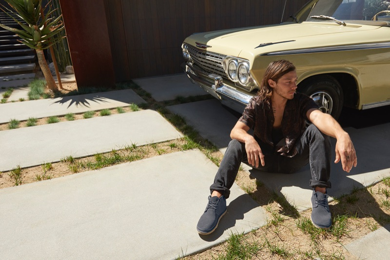 UGG taps McCaul Lombardi to star in its spring-summer 2019 campaign.