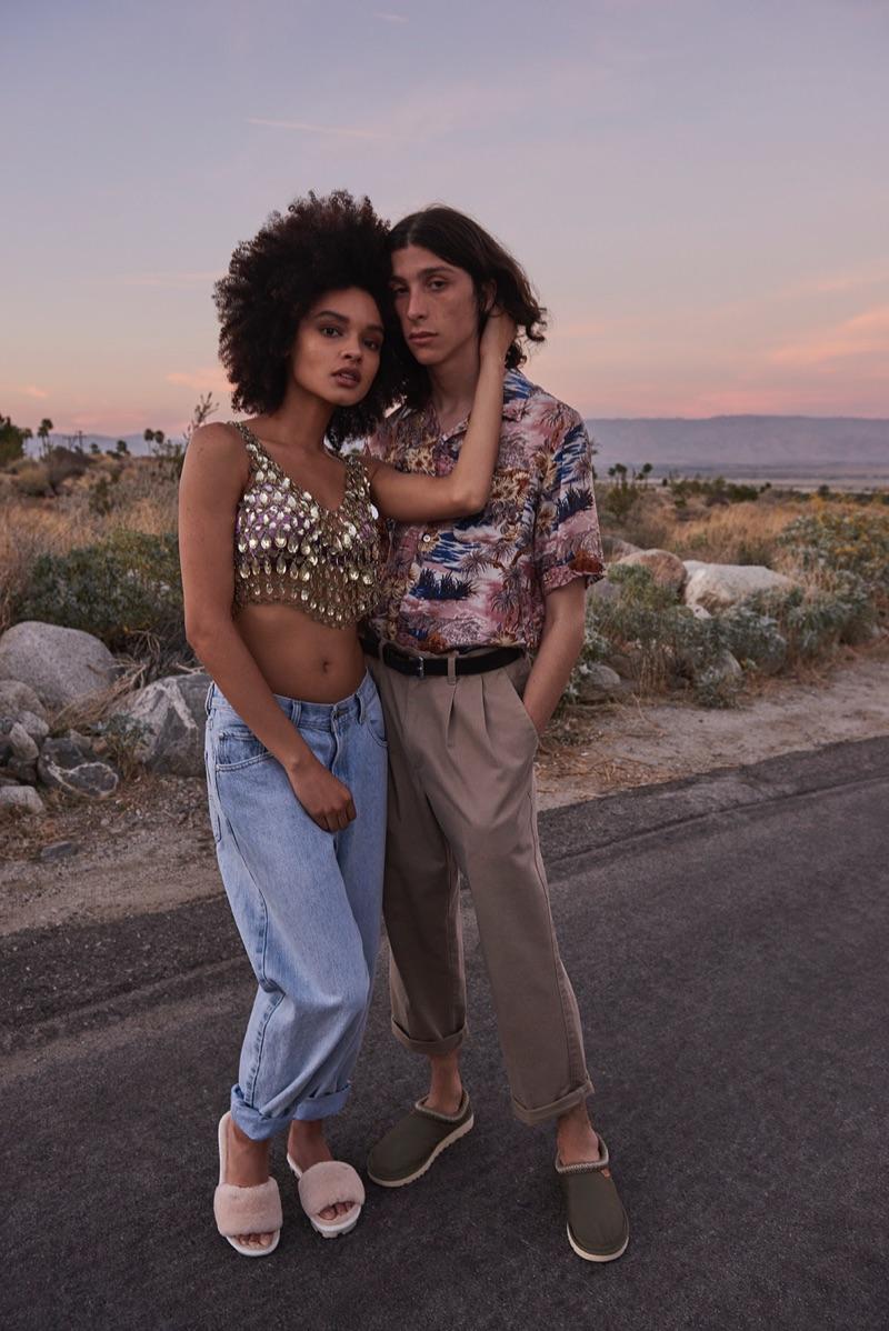 Mikaela Kreuz and Shawkat Sanbar come together for UGG's spring-summer 2019 campaign.