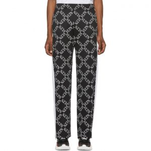 Valentino Black VLTN Print Track Pants