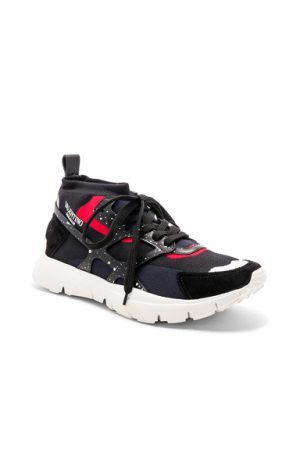 Valentino Sound High Sneakers in Black. - size 42 (also in )