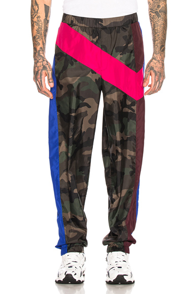 Valentino Trousers in Camo,Blue,Green,Pink. - size 52 (also in 46,48,50)