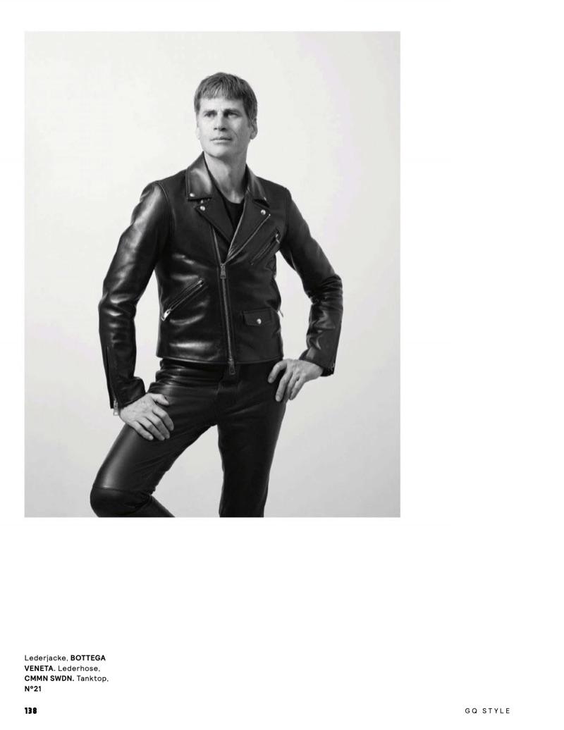 Werner Schreyer & Mark Vanderloo Rock Leather for GQ Style Germany