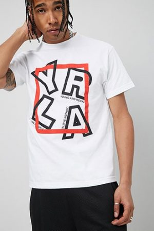 Young & Reckless Graphic Tee at Forever 21 White