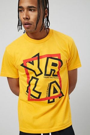 Young & Reckless Graphic Tee at Forever 21 Yellow