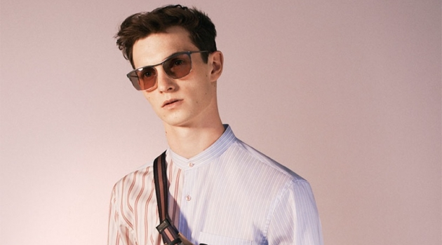 Luc Defont-Saviard Dons Chic Style from Zara Spring '19 Studio Collection