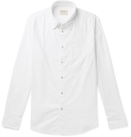 rag & bone - Standard Issue Beach Cotton Shirt - Men - White