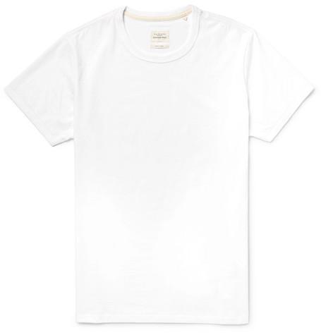 rag & bone - Standard Issue Cotton-Jersey T-Shirt - Men - White