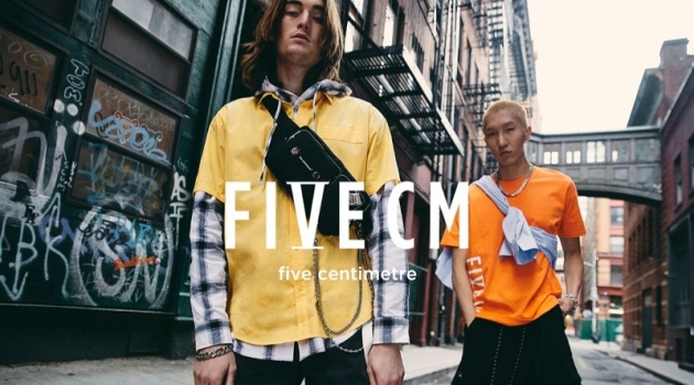 Taking to the streets of New York, Niko Traubman and Wooseok Lee star in 5cm's spring-summer 2019 campaign.