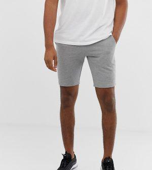 ASOS DESIGN tall jersey skinny short in gray - Gray