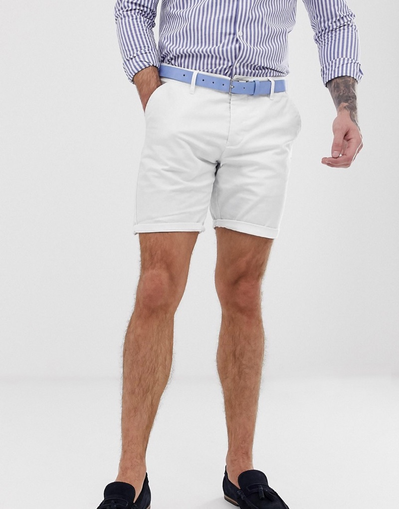 ASOS Design Slim Chino Shorts $29