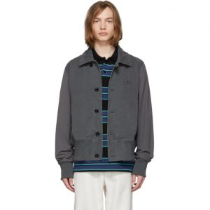 Acne Studios Grey Ollys Jacket