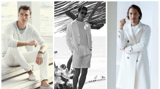 All White Outfits for Men