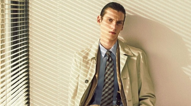Anthony Gilardot Goes Sartorial for Corriere della Sera Style