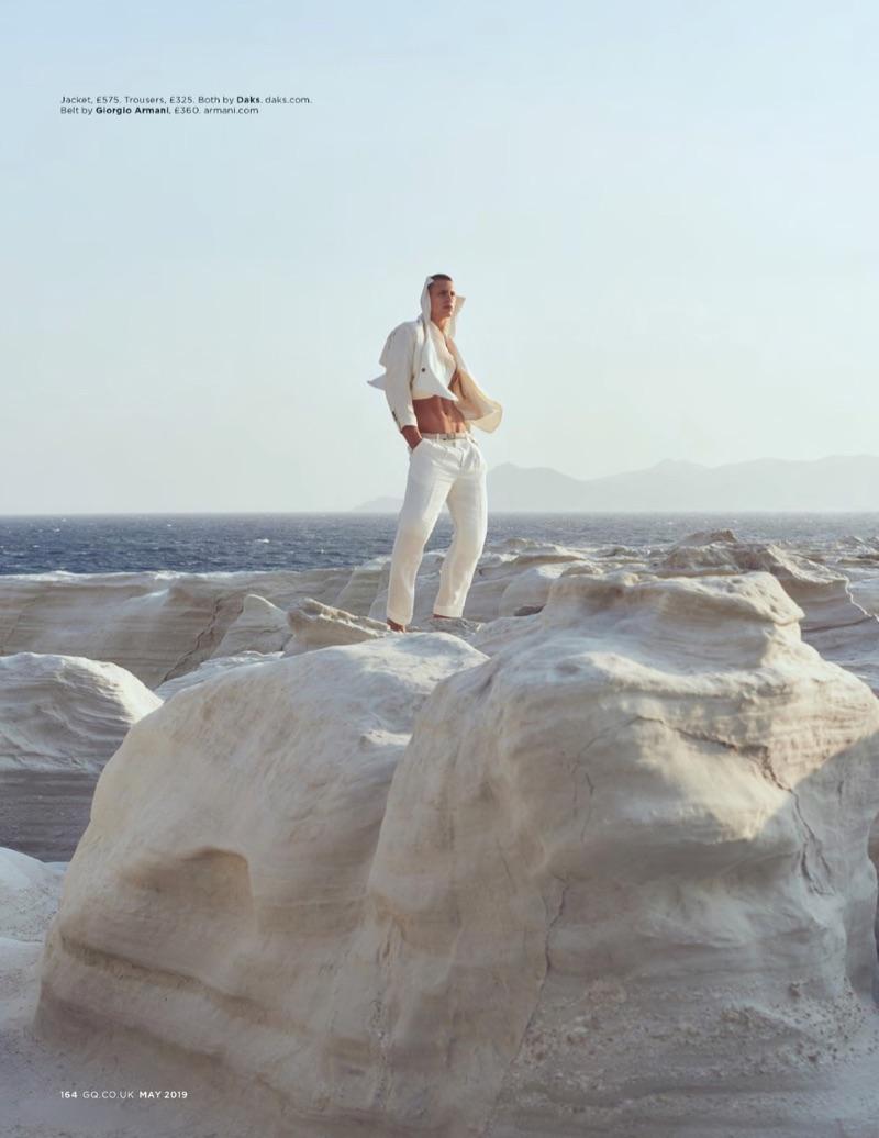 Isles of White: Augusta Alexander for British GQ
