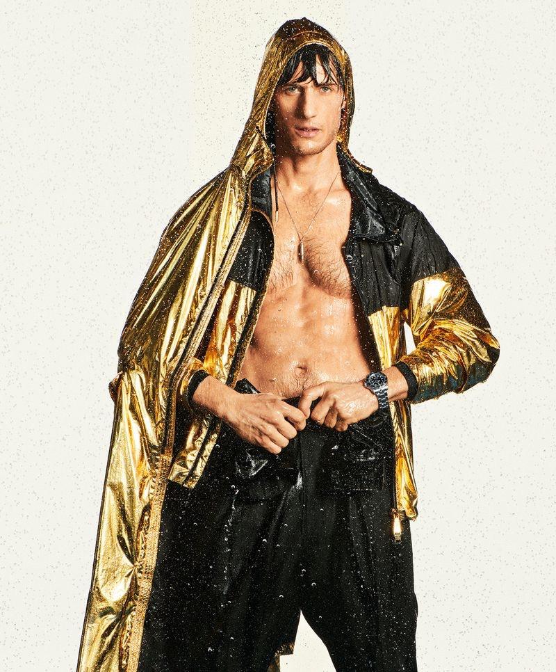 Axel Hermann Rocks Sporty Fashions for Madame Figaro