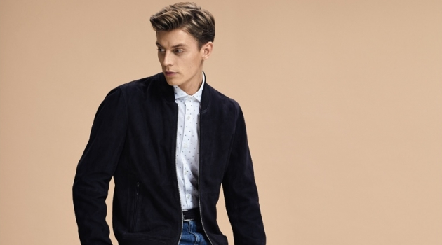 Ease Into Classic Style with Hugo Boss Jackets