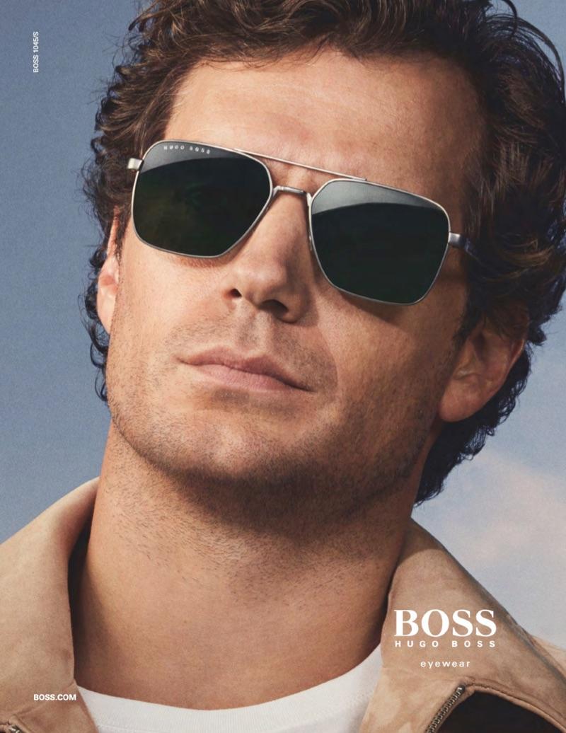 Henry Cavill stars in BOSS' spring-summer 2019 eyewear campaign.
