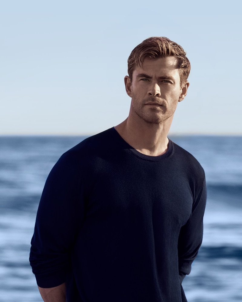 Chris Hemsworth fronts the BOSS Bottled Infinite fragrance campaign.