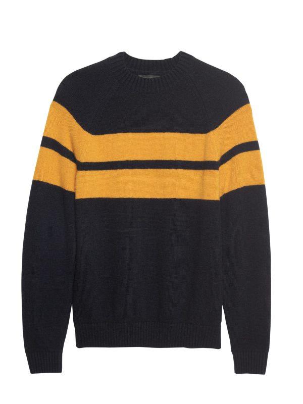 BR x Kevin Love | Air Spun Stripe Crew-Neck Sweater