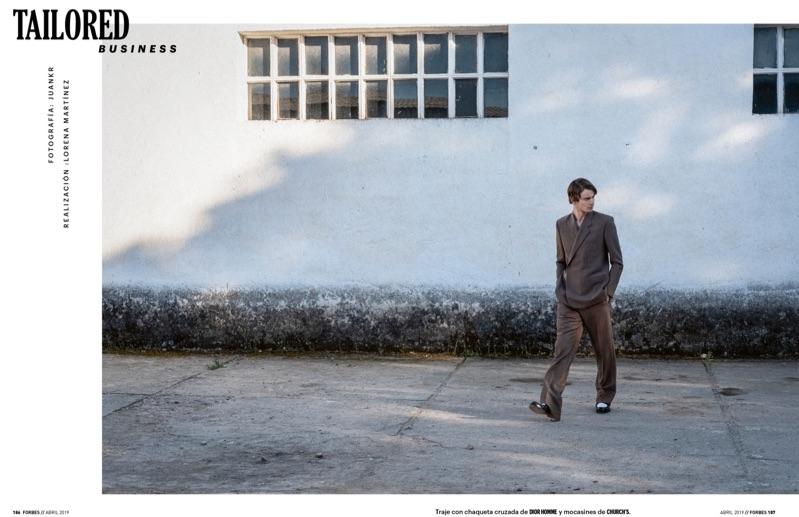 Ben Allen Suits Up for Forbes España