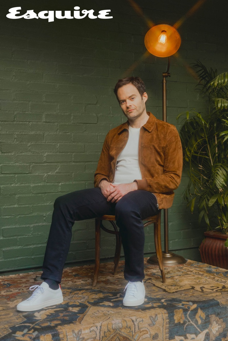 Bill Hader appears in a new photo shoot for Esquire.