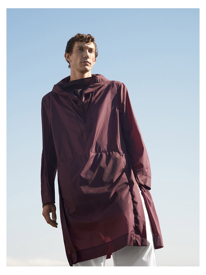 Thilo Muller stars in COS' spring-summer 2019 campaign.