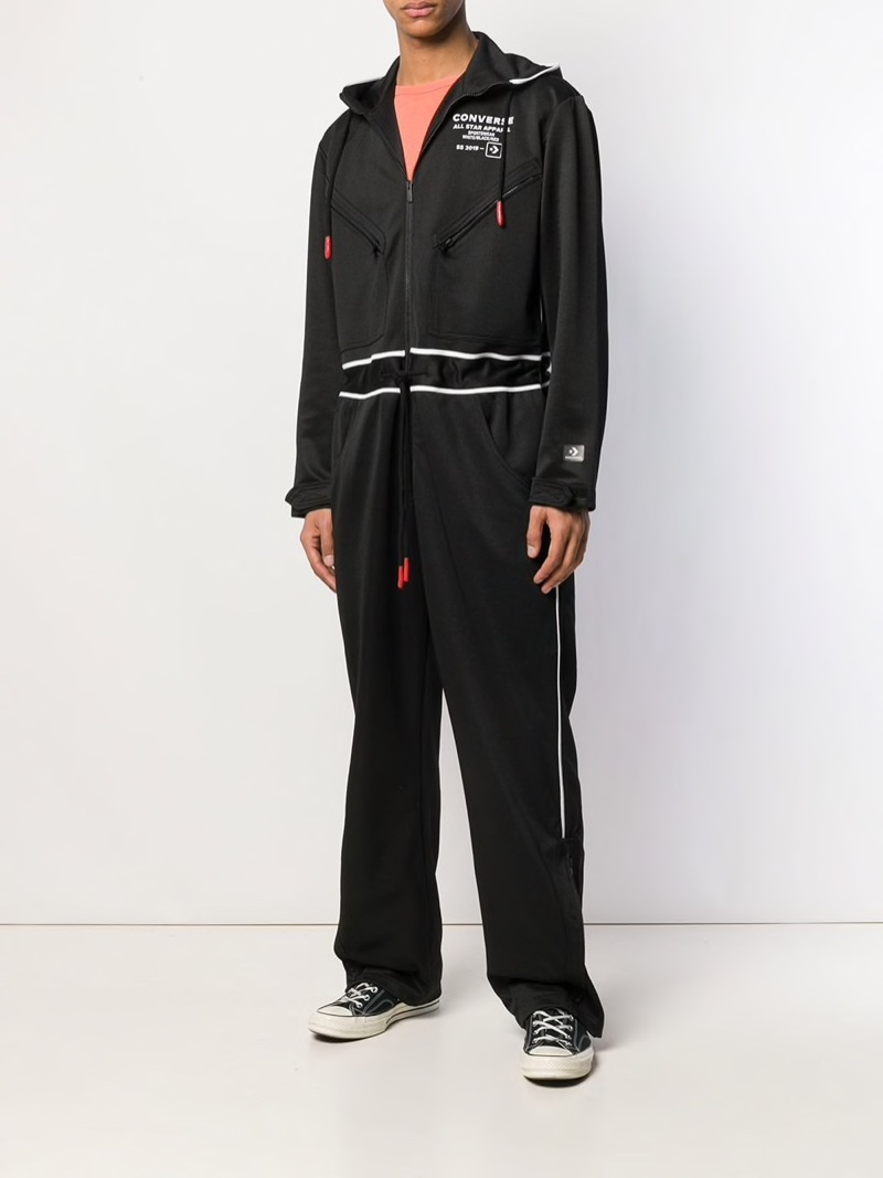 Converse Printed Jersey Jumpsuit $409