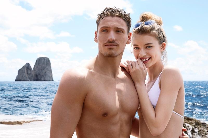Dolce Gabbana Light Blue Sun Fragrance Campaign