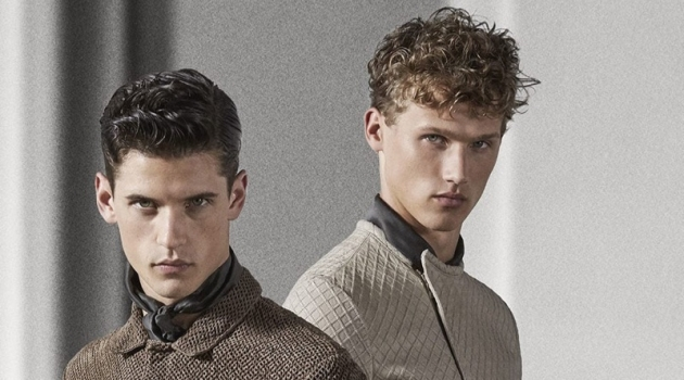 Nate Hill, Bram Valbracht + More Don Sporty & Sleek Styles from Emporio Armani
