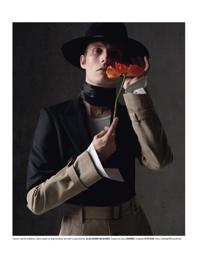 Felix Gesnouin is a Fashion Peacock for Les Echos Weekend