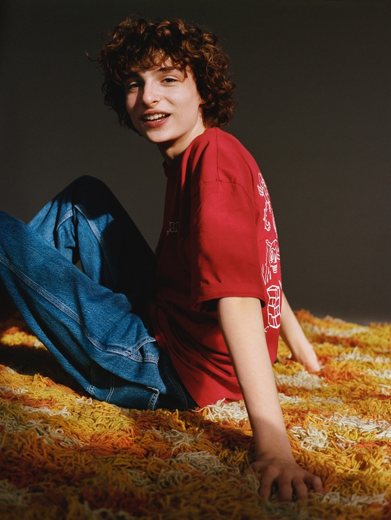 Pull & Bear enlists Finn Wolfhard for a new collaboration collection.