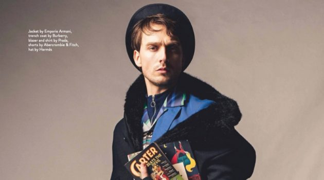 Florin Sopcu is a Preppy Fashion Plate for Da Man