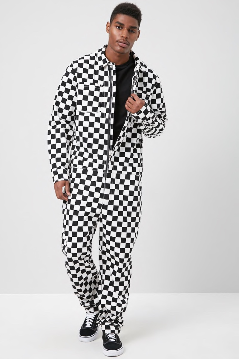 Forever 21 Checkered Print Jumpsuit $37.99