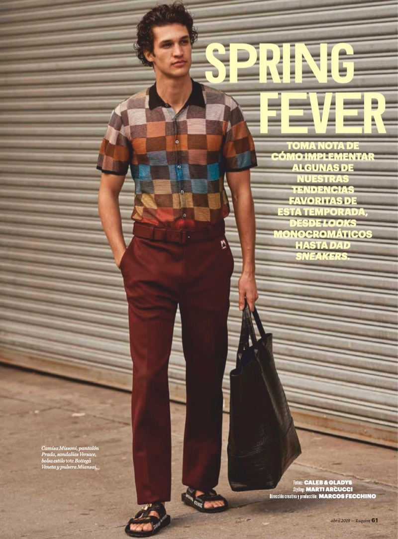 Spring Fever: Francisco Henriques for Esquire México