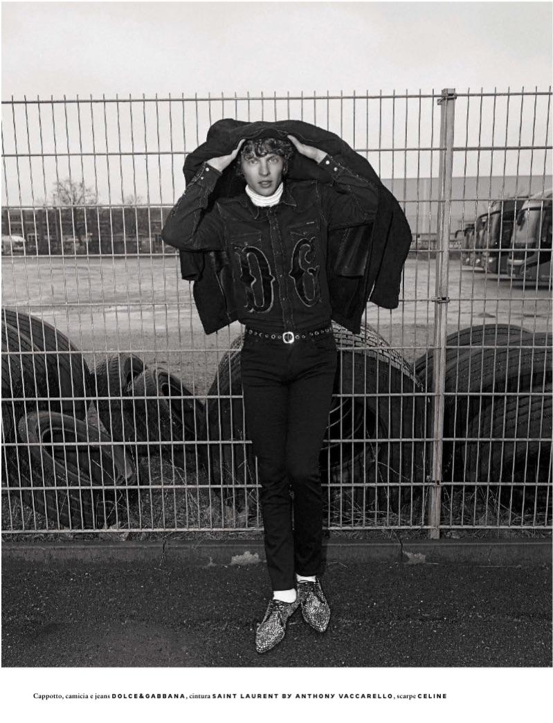 Urban Cowboy: Roberto Sipos & Tim Schuhmacher for GQ Italia